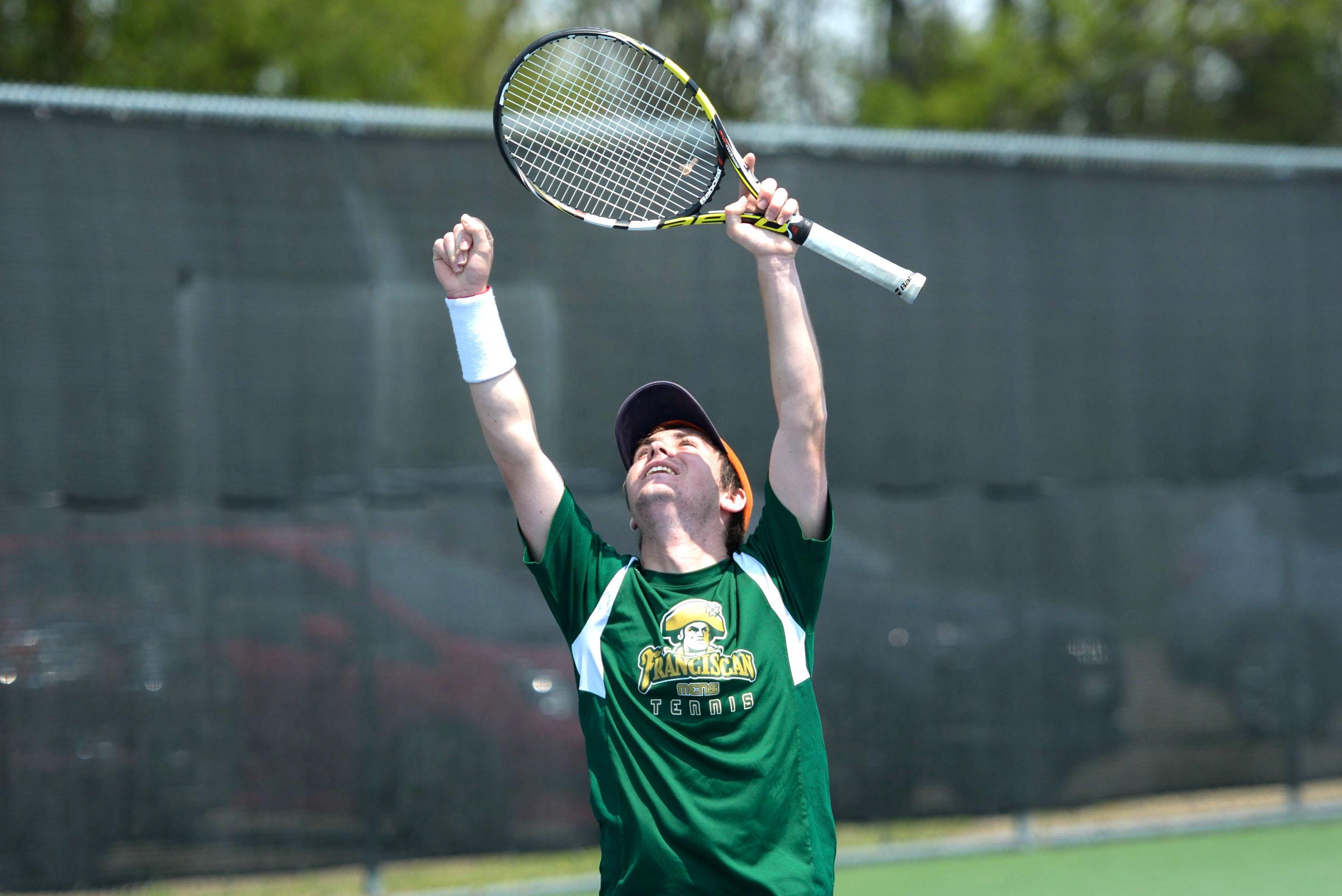 Mens Tennis - Victory